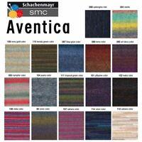 """250g (37€/kg) Schachenmayr """" Aventica """" 101 pflaume Wolle zum stricken"""