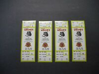 Vintage 1994 Chicago Wolves vs Cleveland Lumberjacks Full Tickets.Excellent Cond