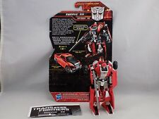 TRANSFORMERS GENERATIONS SWERVE ASIAN EXCLUSIVE with Instructions loose