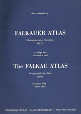 Falkauer Atlas Photographischer Sternatlas 1950.0 Nachdruck 1985 Falkau Atlas