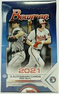 2021 Bowman Jumbo baseball Factory Sealed hobby box New