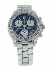 Breitling Colt Chronograph 38mm Men's Blue Dial Quartz Watch A53350