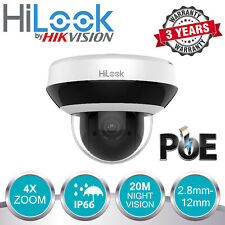HIKVISION 4MP IP POE CCTV DOME PTZ CAMERA INDOOR OUTDOOR 4X ZOOM SHOP OFFICE UK