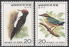 Korea 1976 Woodpecker/Pitta/Birds/Nature/Conservation/Wildlife 2v set (n27355)