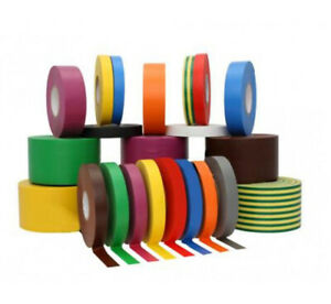 PVC flame retardant Electrical Insulation Tape with various sizes and colors