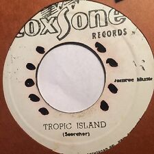 JACKIE MITTOO / THEOPHILUS Tropic Island b/w Tell Me Little Lady - COXSONE VG++/