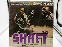 "SHAFT Movie Soundtrack ISAAC HAYES (ENS-2-5002) 12""Vinyl Record LP -VG+ c VG/VG+"