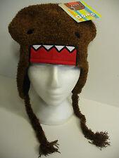 Domo Kun Face Fuzzy Pilot Laplander Hat Licensed Brand New