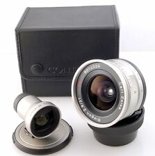 Contax 21mm F2.8 and finder for Contax G Cameras With Case. G1 G2 Excellent UK