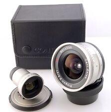 Contax 21mm F2.8 et viseur pour Contax G caméras avec étui. G1 G2 excellent uk