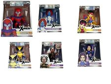 "Jada Metals Diecast 4"" Figures Marvel X-Men Bundle Set New In Stock!"