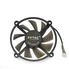 PWM 4pin 2 Ball Bearing VGA Video Card Cooler Cooling Fan 0.35A PLA08015B12HH