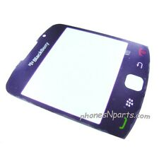 Purple Genuine OEM Blackberry Curve 9300 9330 LCD Screen Cover Plastic Lens New