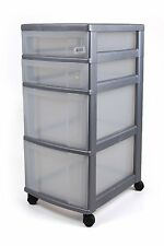 Trolley Office Dare Container On Wheels 4 Drawers + 4 Rollen - Top Item