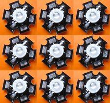 100pcs 1W Blue High Power LED Emitter 700mA  460-470nm @ 20mm Star PCB for DIY