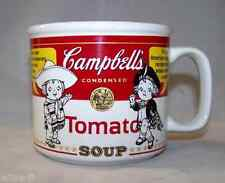 Mug Campbell's Soup Tomato 1999 Contemporary Red and White label American cup