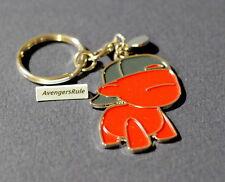 MunnyWorld Enamel Keychains Kidrobot Red Raffy Black Hat
