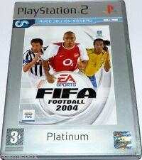 PlayStation 2 jeu video FIFA 2004 platinum foot football console ps2 sport BE