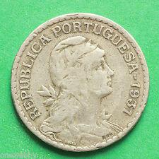 1931 Portugal 1 Escudo SNo39686