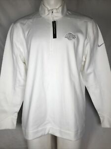 Nike Los Angeles Lakers White Therma Repel Men's 1/2 Zip Pullover Golf Top XL