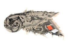 Sciarpa Uomo Pierre Cardin Loggata Jacquard Obliqua 3625 Alce Made In Italy