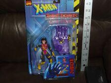 X MEN ROBOT FIGHTER JUBILEE WITH GRABBING SENTINEL HAND 1997 TOYBIZ
