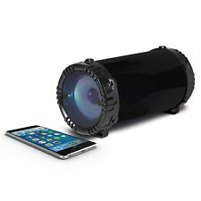 Akai A58060 Portable Wireless Bluetooth Speaker Light Up - Black - Brand New