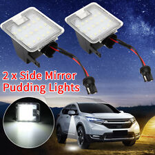 2x Side Mirror LED Puddle Light For Ford Mondeo MK4 Focus Kuga Escape C-Max