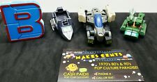 Lot Of 5 - Vintage 1980s Gobots Transformers Action Figures Toys Robot KO