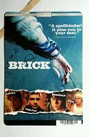 A BRICK JOSEPH GORDON LEVITT COVER ART MINI POSTER BACKER CARD (NOT A movie)