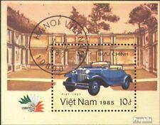 Vietnam Block42 (kompl.Ausg.) gestempelt 1985 ITALIA 1985: Automobile EUR 1,70