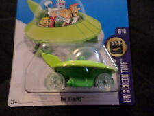 Hw Hot Wheels 2017 Hw Screen Time #8/10 The Jetsons Green Hotwheels Vhtf
