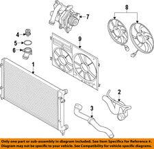 AUDI OEM 10-17 A5 Quattro-Engine Water Pump 06H121026DD