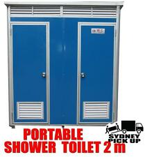 Brand new 2.2  Meter INDIVIDUAL Portable Builders Toilet and Shower unit