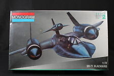 YH003 MONOGRAM 1/72 maquette avion 5810 SR-71 Blackbird