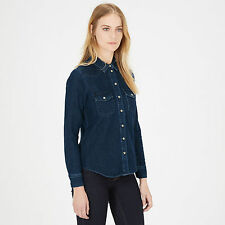 WAREHOUSE Fitted Western Shirt 14