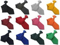 Plain Workwear Tie Security Ties and Safety Clip Ons Clipper