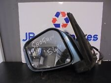 99-07 MITSUBISHI SHOGUN PININ N/S PASSENGERS SIDE ELECTRIC WING MIRROR BLUE
