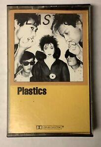 "RARE Plastics ""Self-Titled"" Cassette 1981 US New Wave Devo Screamers Blondie"