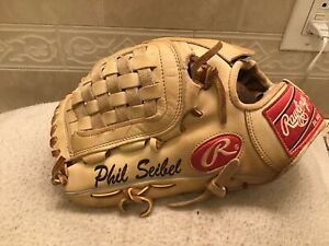 "Rawlings PRO201-3K 12.25"" HOH Phil Seibel Baseball Pitchers Glove Left Throw"