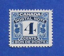 1932 4c CANADA POSTAL NOTE SCRIP REVENUE VD # FPS6 B # 7 UNUSED          CS15745