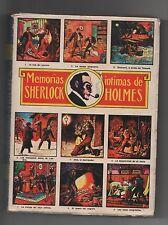 Harry Dickson en espagnol. Memorias intimas de Sherlock Holmes T.1. Mexico 1964
