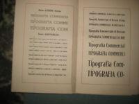 Caratteri Tipografici varie serie di caratteri
