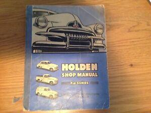 Holden FJ series workshop manual, ex Holden Dealer. Holden part number M31374