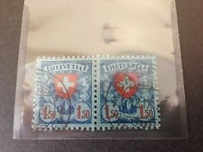 Aviation Used Switzerland Stamps