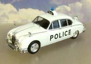 ATLAS DIECAST 1/43 1965 JAGUAR MKII MK2 STAFFORDSHIRE CONSTABULARY POLICE CAR