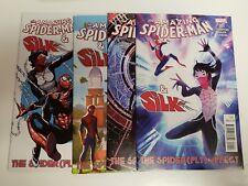 Amazing Spider-Man & Silk The Spider(fly) Effect (Marvel 2016) #1,2,3,4 SET