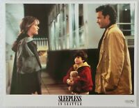 "ORIGINAL 1993 LOBBY CARD 14"" x 11""- ""SLEEPLESS IN SEATTLE"" - TOM HANKS -MEG RYAN"