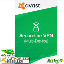 Avast Secureline VPN 2021 5 dispositivos 1 año | Internet Security | intimidad |