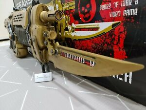 Gears of War 3 Gold Retro Lancer 1:1 Replica